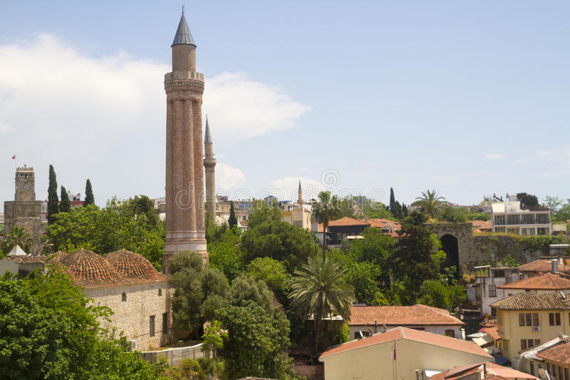 Yivli minare清真寺 库存图片