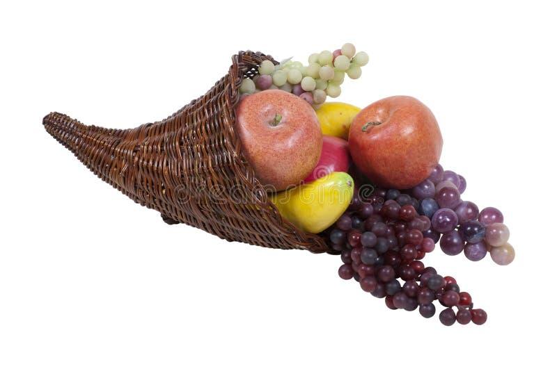 ymnighetshornfrukt arkivfoton