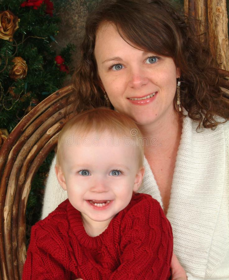 Yo y mamá fotografía de archivo libre de regalías