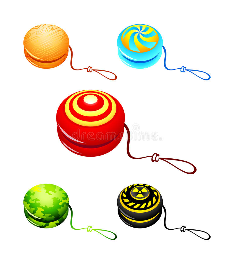 Download Yo-yo stock vector. Image of play, radiation, object - 20052886
