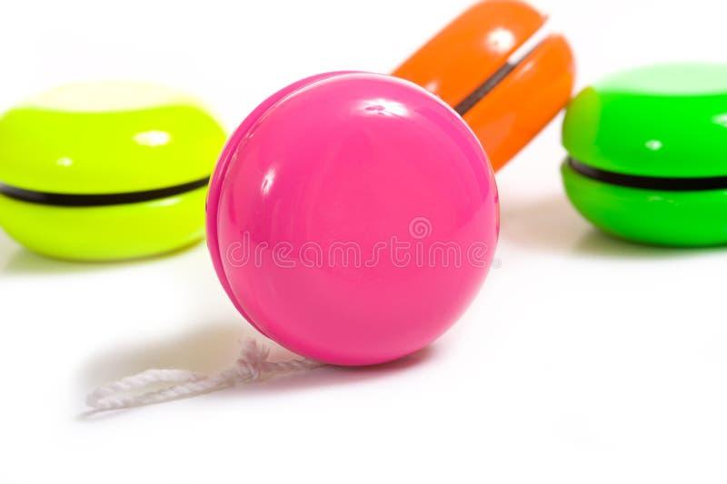 Yo-yo multicolore images stock
