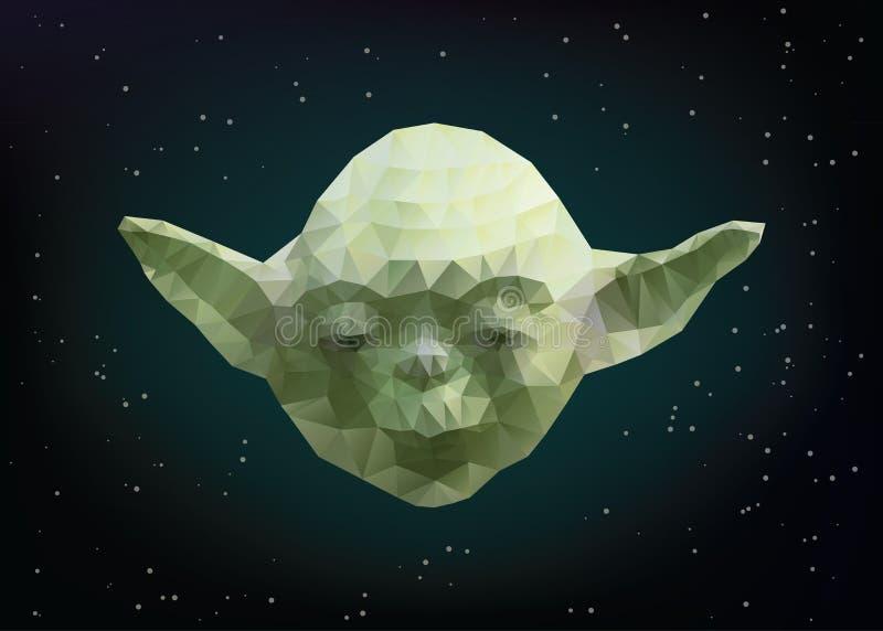 yoda διανυσματική απεικόνιση