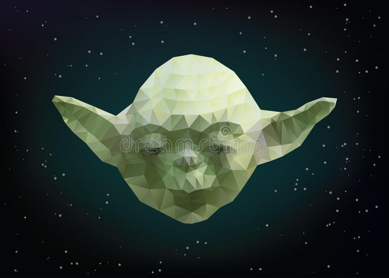 Yoda. JANUARY 05, 2017: Vector illustration of Yoda character from Star Wars