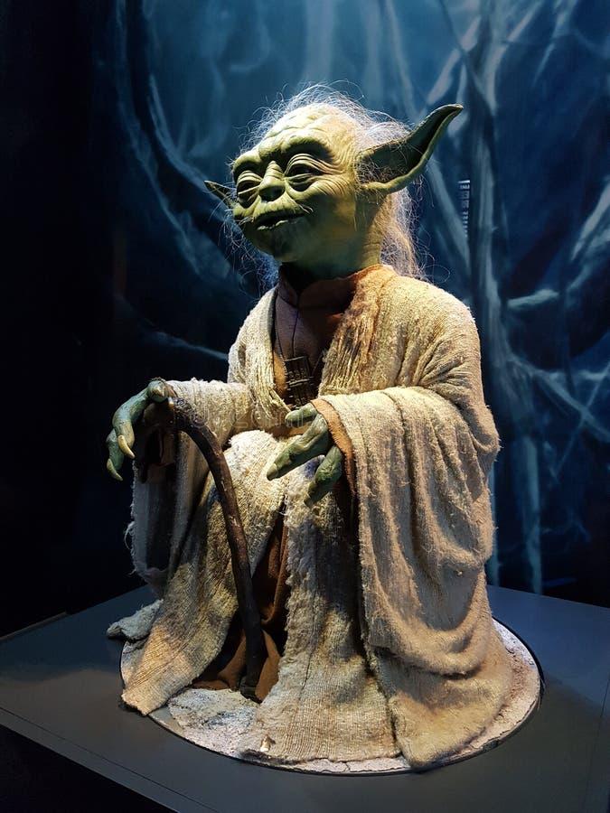 Yoda von Star Wars lizenzfreies stockbild