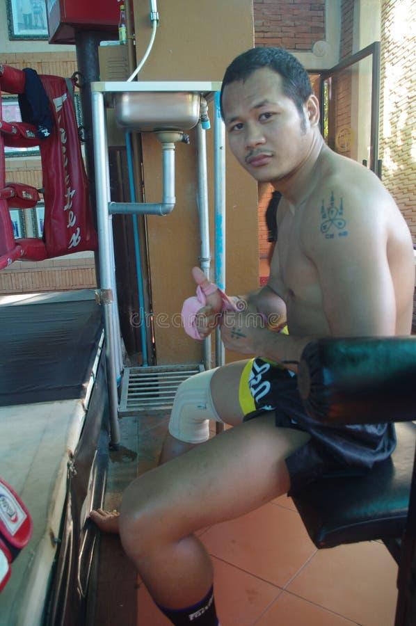 Yodsanklai, WBC Muay Thai World champion stock photo