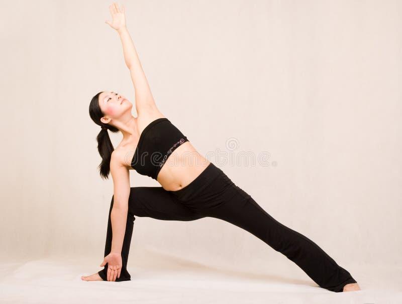 Yoga Fotografia Stock Immagine Di Asiatico Yoga Interno