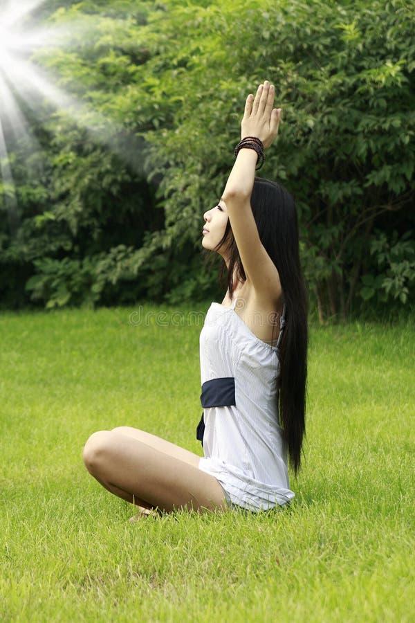 Download Yoga Stock Image - Image: 10454261