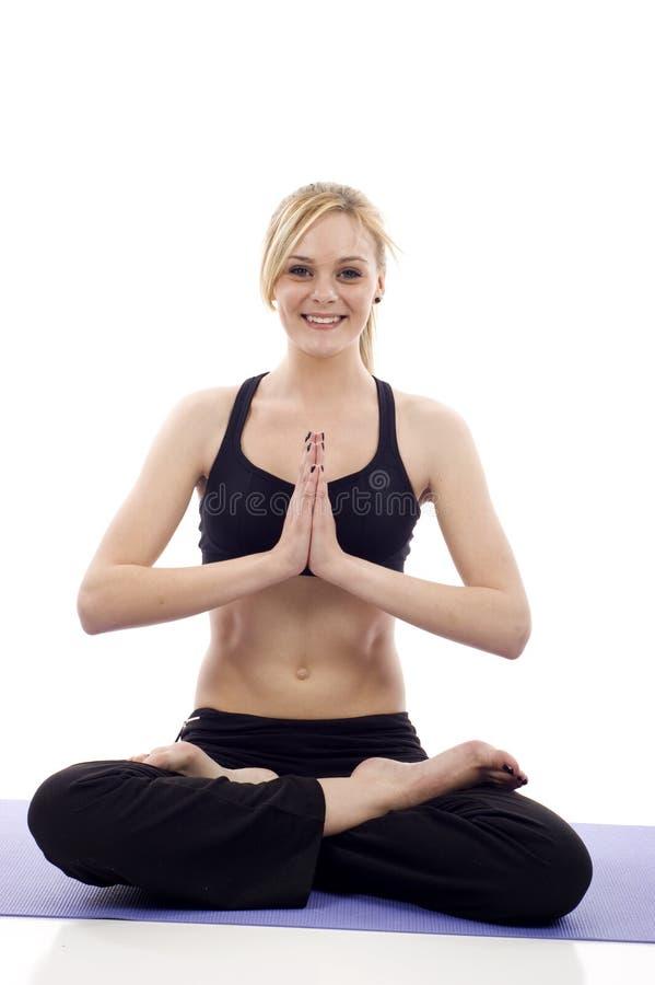 Yoga immagine stock