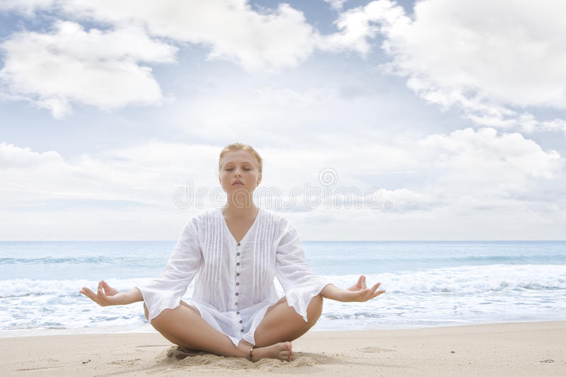 Yoga photographie stock