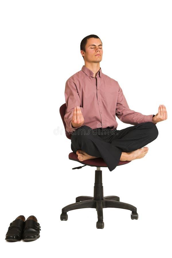 Yoga #182 d'affaires photographie stock libre de droits