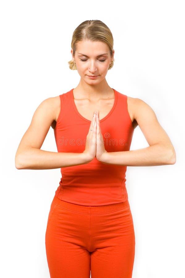 yoga arkivfoto