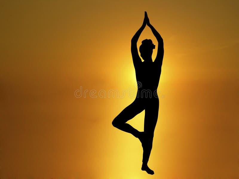 Yoga 2 royalty illustrazione gratis