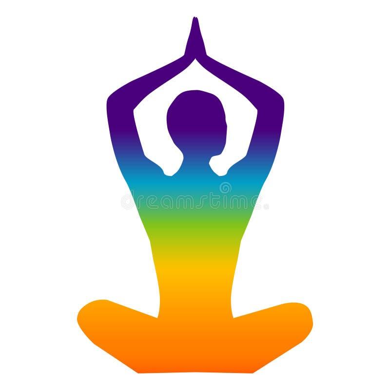 Yoga stock abbildung
