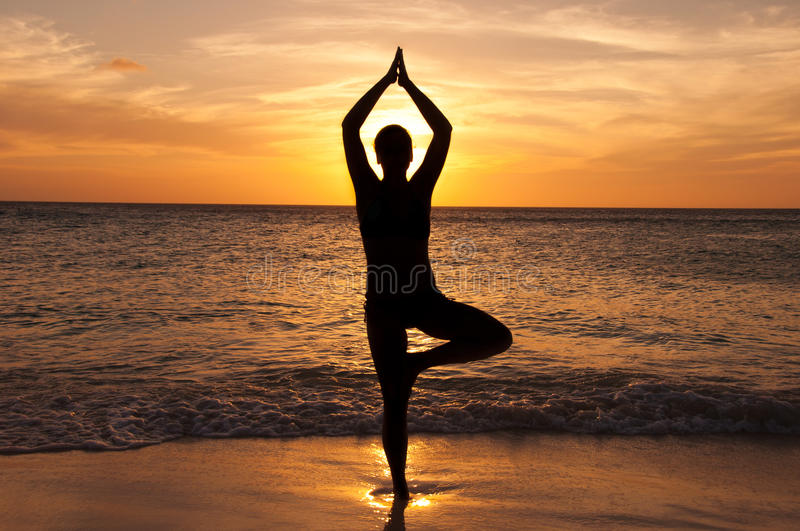 Download Yoga stock photo. Image of caribbean, relax, sunny, wave - 21631038