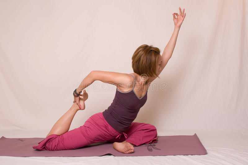 Download Yoga stock image. Image of ethnic, active, exercise, limber - 26654639