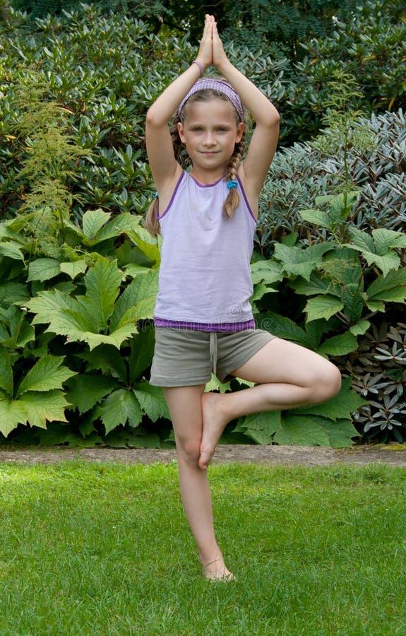 Yoga arkivfoton