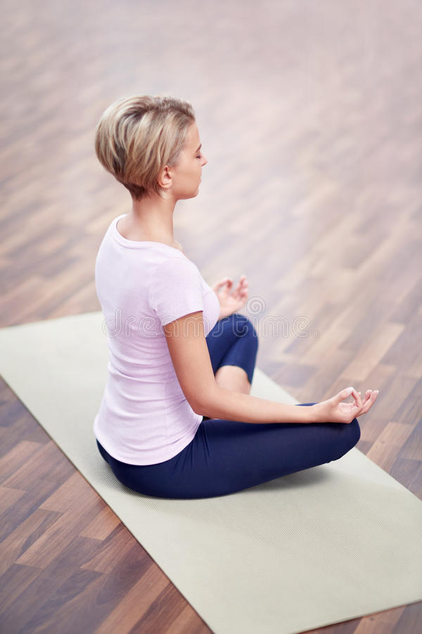 Yoga foto de archivo libre de regalías