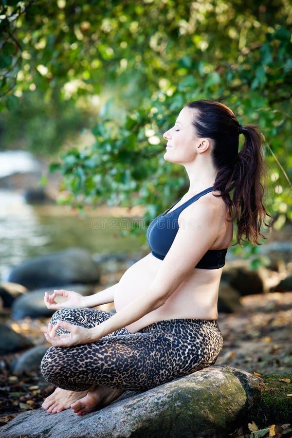 Yoga royalty-vrije stock afbeeldingen