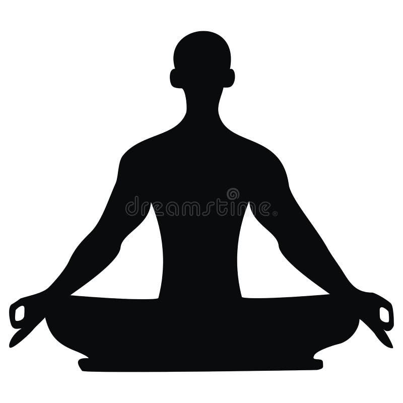 Yoga vector illustratie