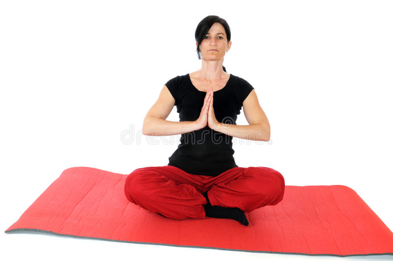 Yoga stockfotos