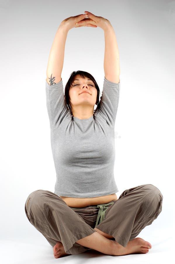 Yoga #4 immagine stock