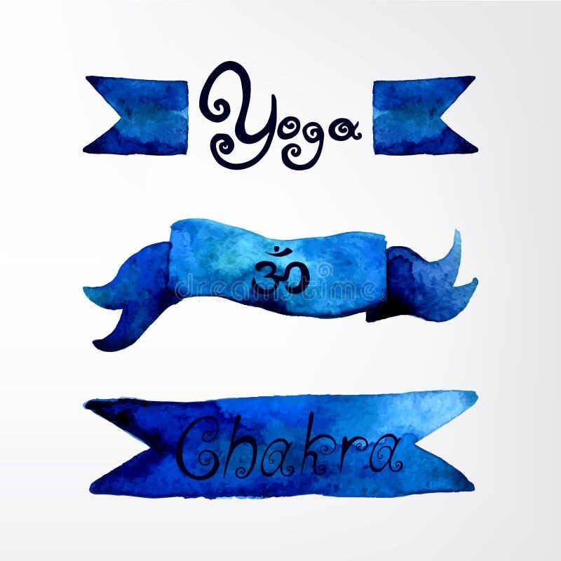 yoga illustrazione di stock