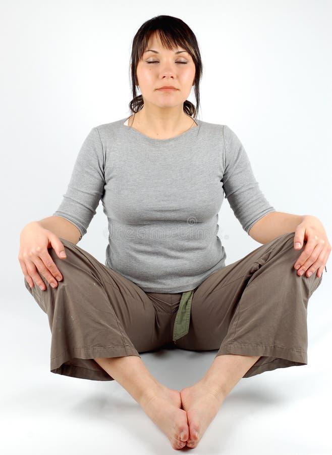 Yoga #5 immagine stock libera da diritti
