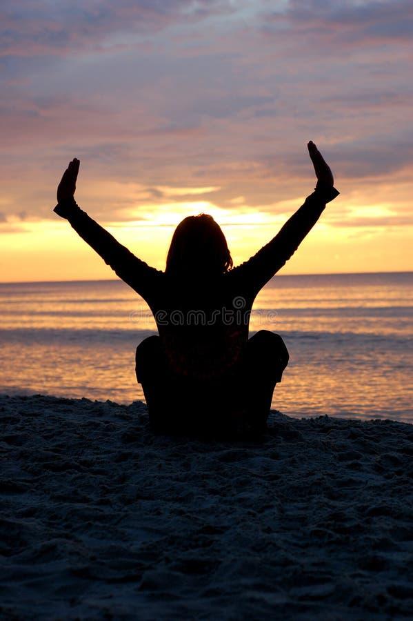 Yoga #5 royalty free stock photo