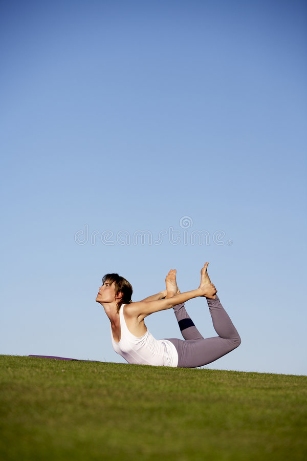 Yoga-5 stock images