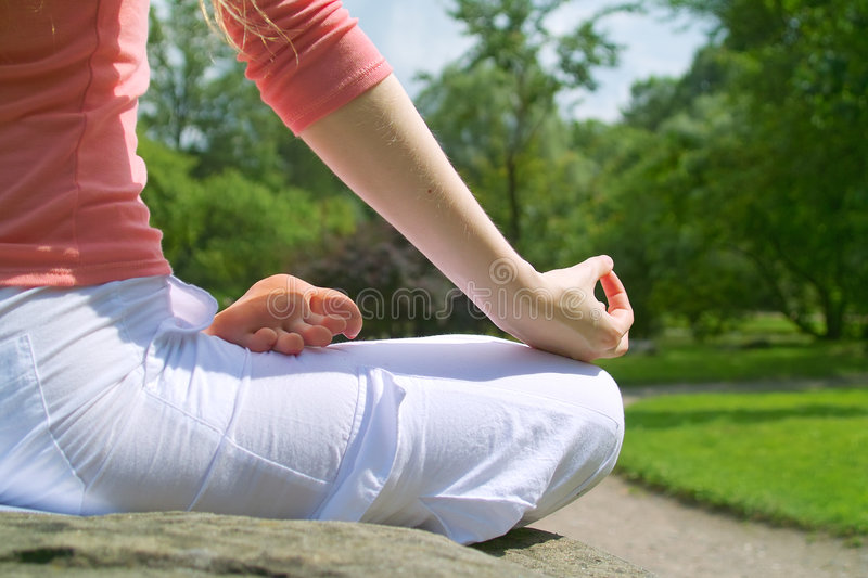 Yoga photo stock