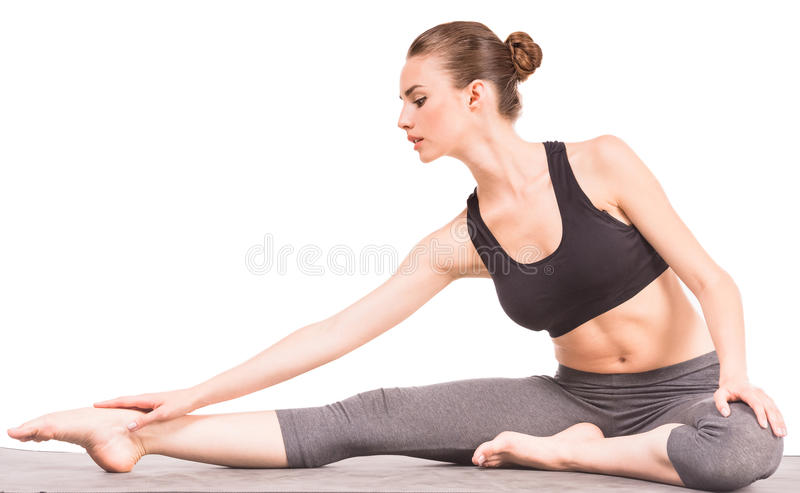 yoga stock foto