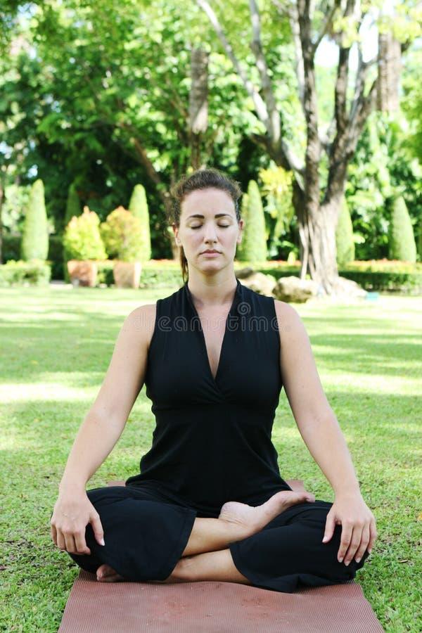 Yoga royaltyfri foto