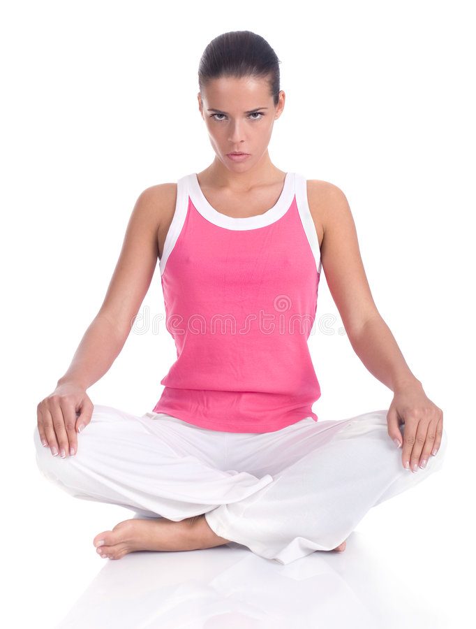 yoga στοκ φωτογραφία με δικαίωμα ελεύθερης χρήσης