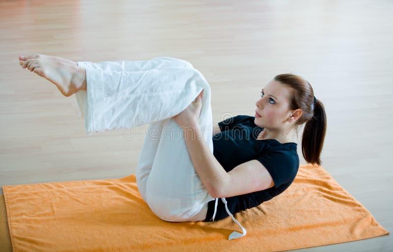 Yoga 7 lizenzfreies stockfoto