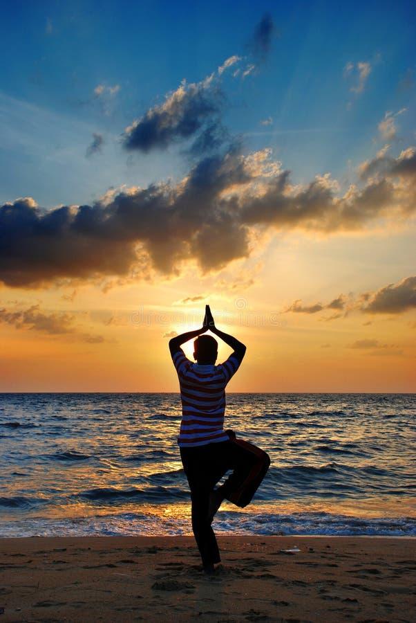 Yoga stockfotos