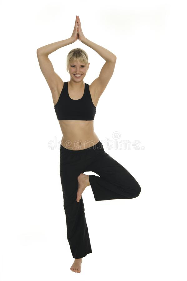 Yoga royalty free stock photography