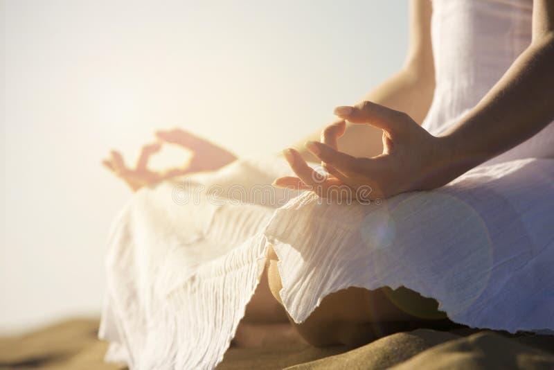 yoga imagem de stock