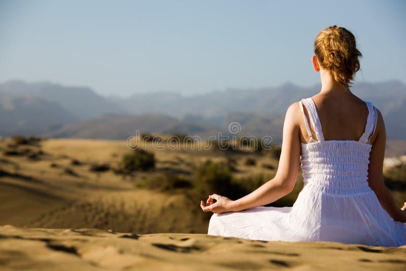 yoga royaltyfri fotografi