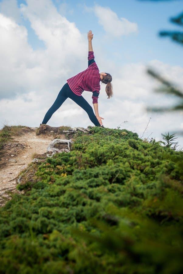 Download Yoga al aire libre foto de archivo. Imagen de belleza - 64209884