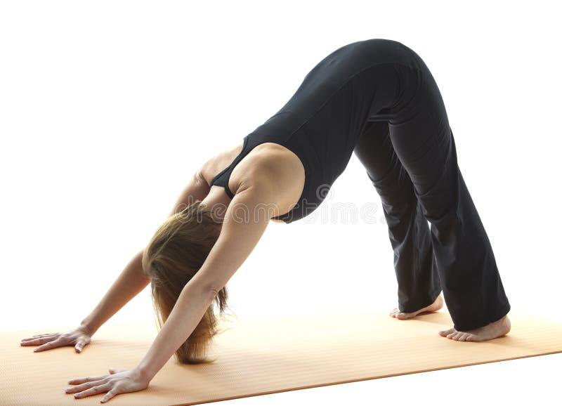 Yoga Asana royalty-vrije stock foto's