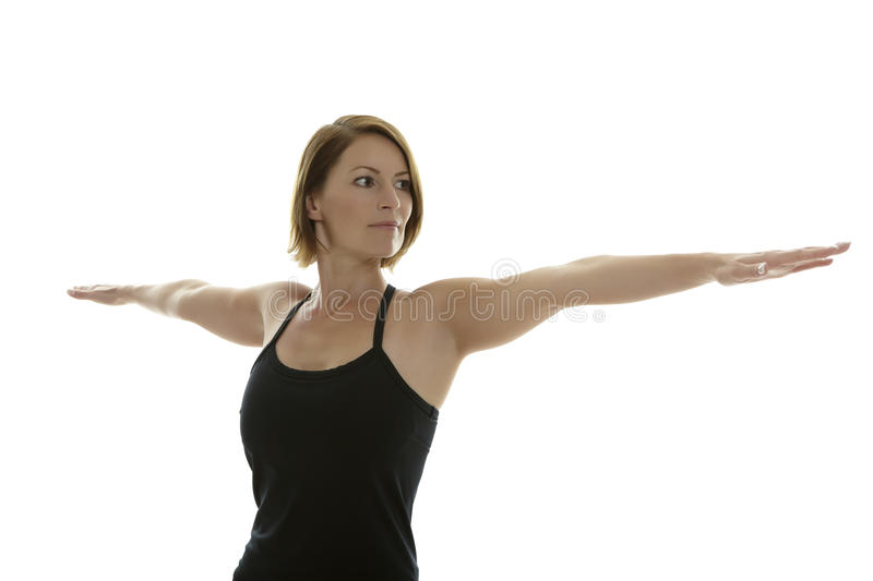 Download Yoga Asana stock image. Image of exercise, flow, brown - 23463911