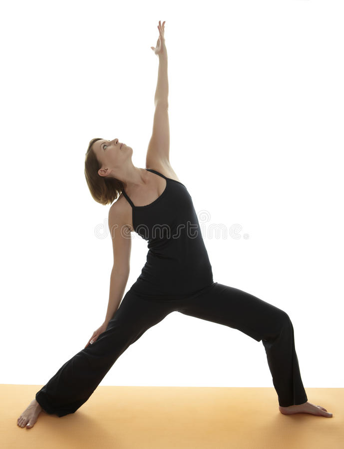 Yoga Asana stock afbeelding