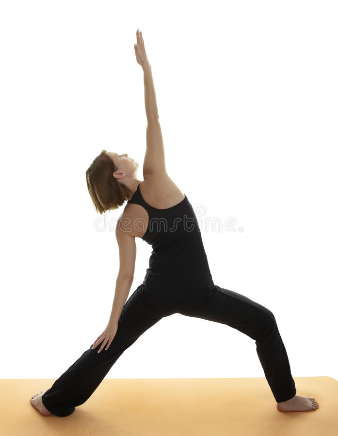 Yoga Asana royalty-vrije stock afbeeldingen