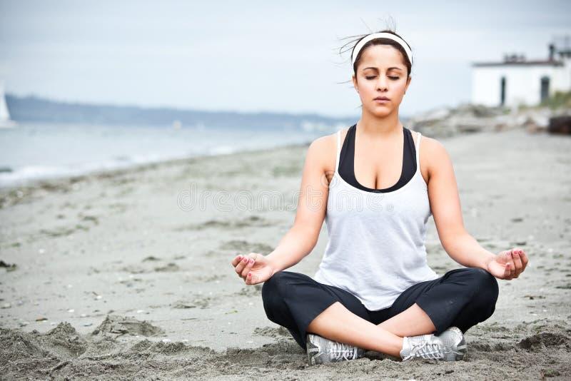 Download Yoga asian woman stock image. Image of female, meditation - 10419667