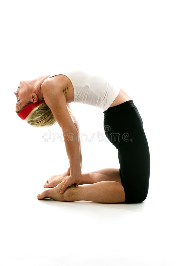 Download Yoga Camel Pose Stock Images - Image: 10669404