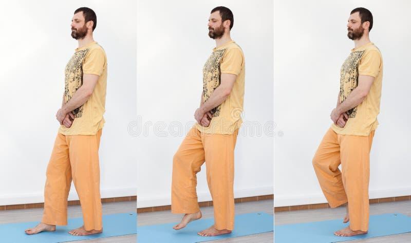 yoga Camminata meditativa immagini stock