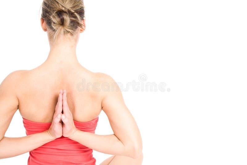 yoga de femme image libre de droits