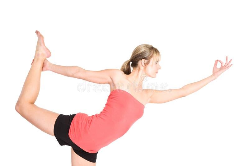 yoga de femme photo stock