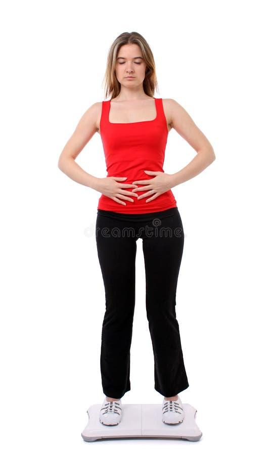 Yoga de forme physique de Wii photographie stock libre de droits