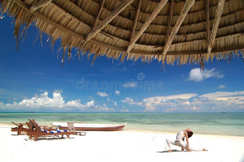 Yoga de Hatha images stock